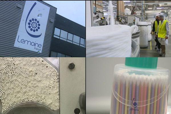 Le groupe Lemoine produit chaque année 120 millions de boîtes de bâtonnets ouatés.