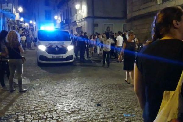 Un piéton a été percuté dans la rue de l'Université, à Montpellier, le soir de la fête de la musique.