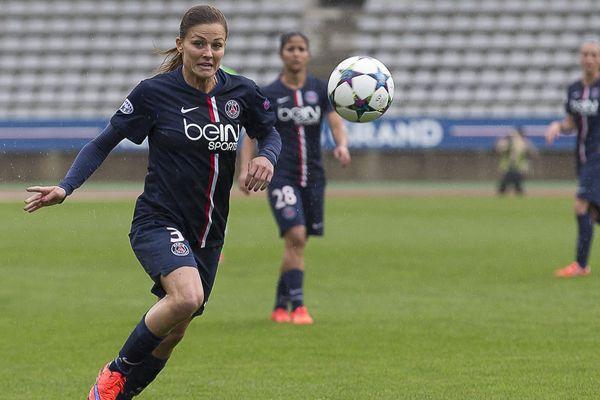 Figure du PSG et de l'équipe de France, Laure Boulleau a commencé sa carrière en Auvergne.