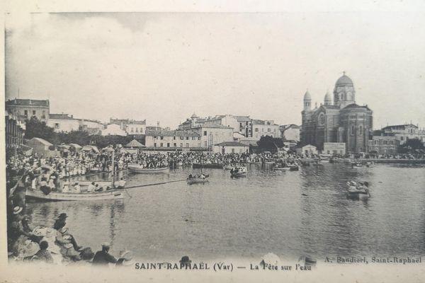 """A cette époque en 1900, on parlait de """"fête sur l'eau"""" lors de ces joutes provençales."""