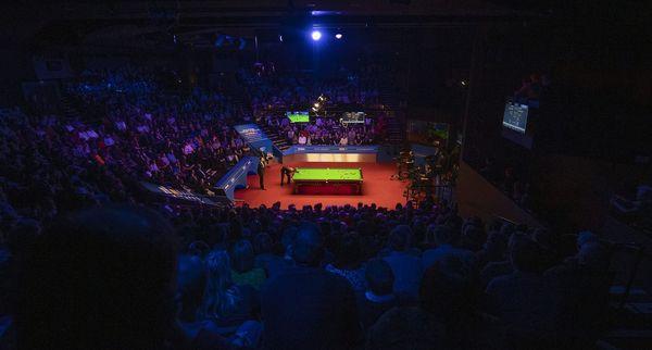 Le Crucible Theatre de Sheffield accueille les championnats du monde de snooker depuis 1977.