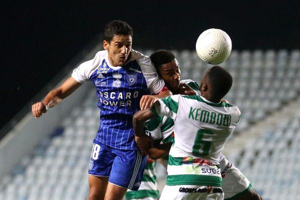 Chaouki Ben Saada et le Sporting réalisent une première partie de saison prometteuse.