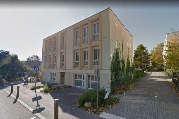 L'école maternelle Saint- Exupéry à Maxéville (Meurthe-et-Moselle).