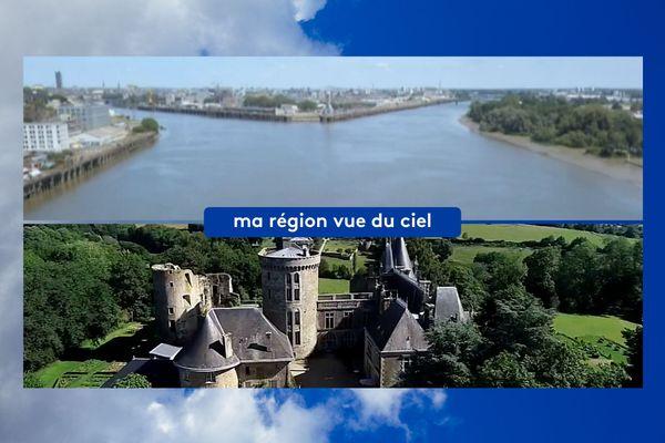Nantes au fil de l'eau et le Mont-Mercure