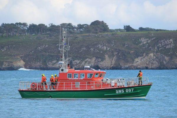 Le canot SNSM de Camaret-Sur-Mer, dans le Finistère