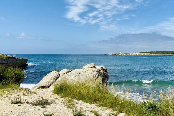 A cette saison, les touristes sont habituellement déjà nombreux sur la Côte Bleue.