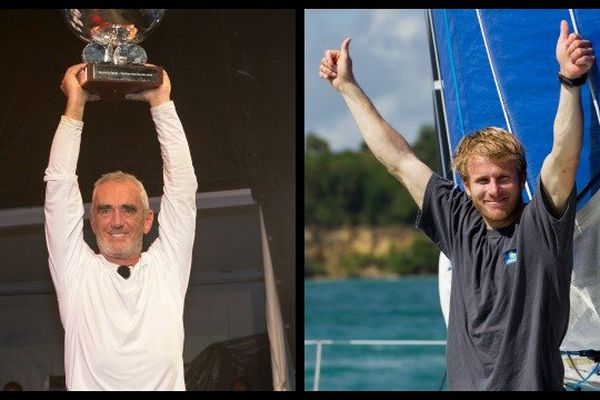 Qui de Loïck Peyron ou de François Gabart sera désigné marin de l'année 2014 ?