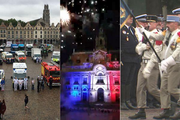 Arras, Roubaix, Lille : un 14 juillet très différent des 14 juillet habituels