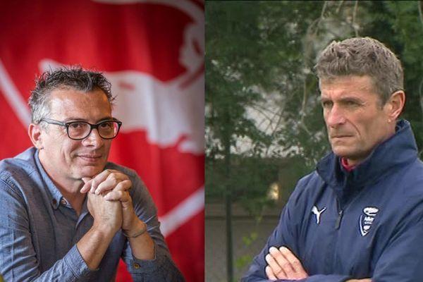 Laurent Boissier, directeur sportif de Nîmes Olympique reste, Bernard Blaquart, l'entraîneur est incertain pour la saison prochaine.