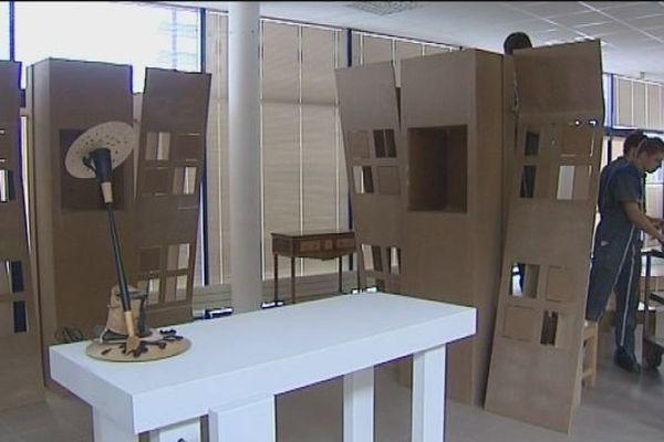 Le lycée de Moirans participe au salon du meuble de Milan
