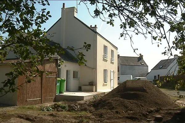 Logement inoccupé en cours de rénovation à Saint-Nazaire