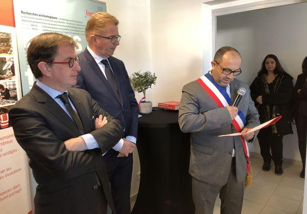Les nouveaux locaux de l'institut national de recherches archéologiques préventives permettront de renforcer son activité en Corse.