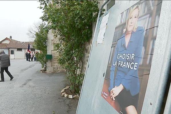 Marine Le Pen est arrivée en tête dans 17 communes creusoises, dont Clairavaux