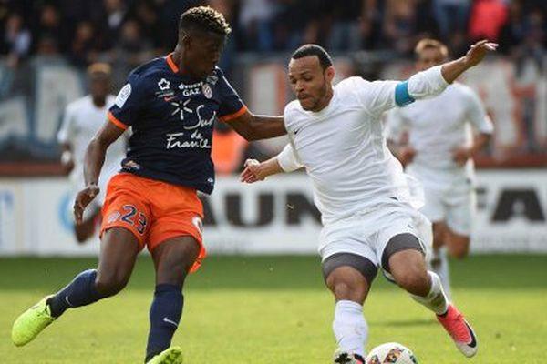 Le MHSC s'est incliné face à Toulouse 1 à 0 au stade de la Mosson à Montpellier - 2 avril 2017