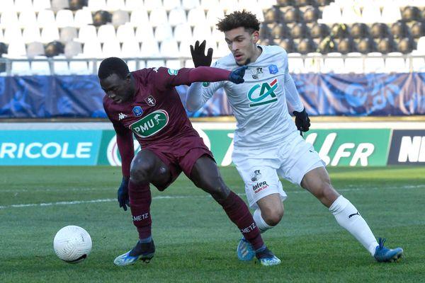Metz (L1) a parfaitement exploité les erreurs d'Amiens (L2) et file vers les 8ème de finale de la Coupe de France.