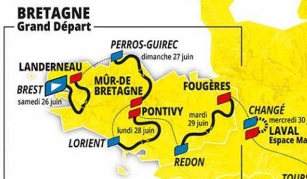 Le Tour fera étape en Mayenne le 30 juin 2021