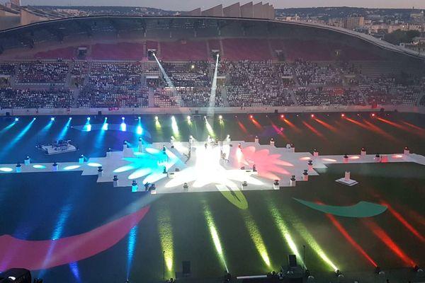 Cérémonie d'ouverture des Gay Games PAris 2018
