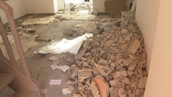 Des 24 logements du Hameau de la Brague, il ne restera bientôt que des gravas, des pelleteuses et de la poussière.