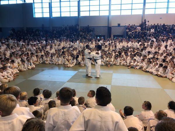 Plusieurs personnalités de l'équipe de France se sont déplacées à l'occasion des 25es mercredis du judo à halle des sport des quatre chênes à Amiens mercredi 30 octobre