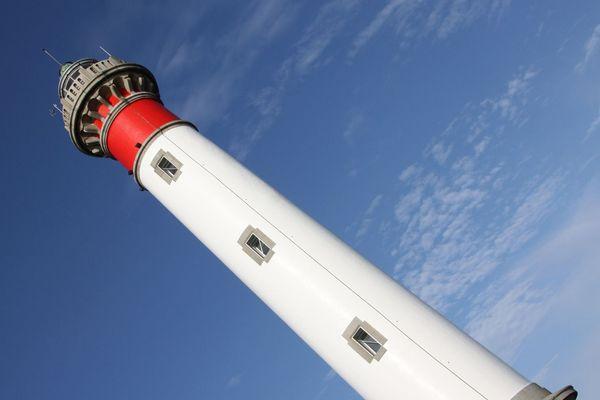 Le phare de Ouistreham (Calvados) est ouvert au public en été