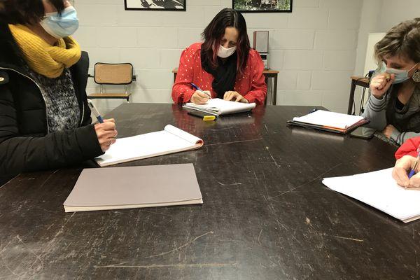 Les ateliers d'écriture encadrés par l'association La Francelinade.