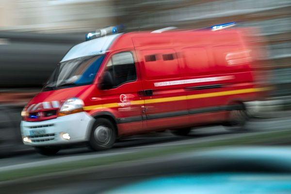 Une quarantaine de sapeurs-pompiers a été dépêchée à Landos où est survenu un accident impliquant quatre voitures le 28 juillet. (Illustration)