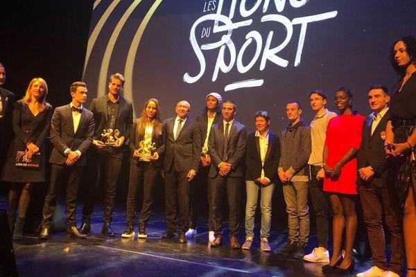 """Le plateau des """"Lions du sport"""" 2018"""