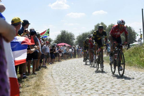 En 2018, le Tour de France avait eu une étape entre Arras et Roubaix.