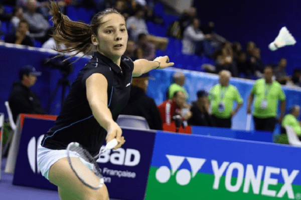 Delphine Lansac - Internationaux de France de Badminton - 20/10/15