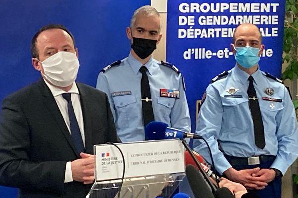 La conférence de presse du Procureur de la République de Rennes, Philippe Astruc sur le meurtre de Magali Blandin