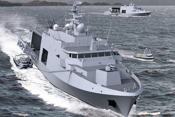 Naval Group chasseur de mine