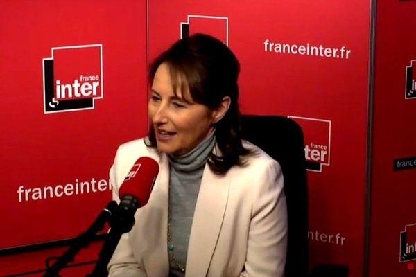 Ségolène Royal au micro de France Inter le mercredi 03 février 2016