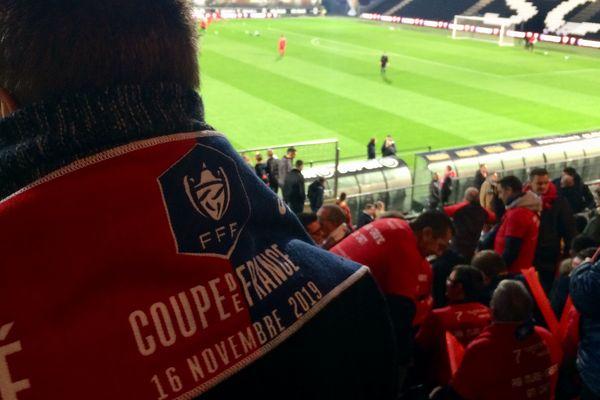 C'est dans le stade Raymond Kopa d'Angers que la modeste équipe de Mûrs-Erigné et ses supporters se sont retrouvés pour affronter le prestigieux SM de Caen ce samedi pour le 7e tour de la Coupe de France.