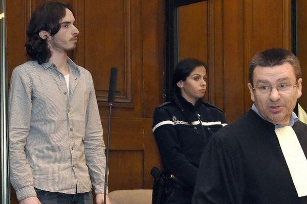 Gérald Seureau et son avocat Laurent Epailly - 2014