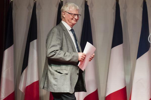 """José Evrard est tête de liste aux élections régionales pour """"Debout La France""""."""