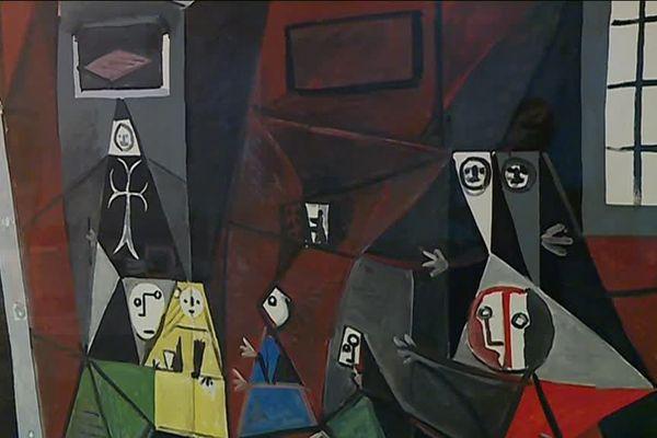 """Exposition """"Picasso et l'exil espagnol"""" / Détail """"Les Ménines"""""""