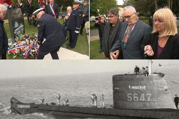 Moment de recueillement à Saint-Amand-les-Eaux, 51 ans après le naufrage de la Minerve