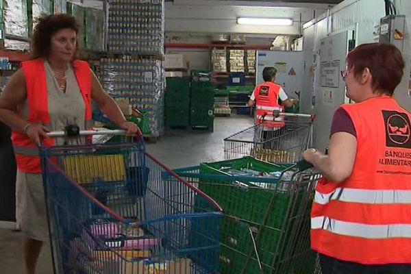 Les bénévoles de la Banque Alimentaire