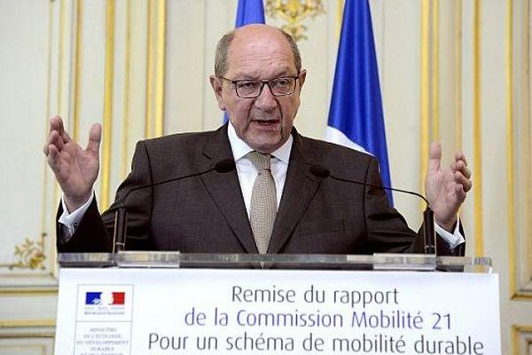 Philippe Duron, député-maire de Caen, le 27 juin 2013 à Paris