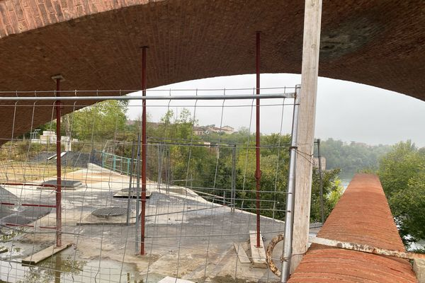 Les ouvriers chargés du montage de la structure sur site ont quitté le chantier le 24 septembre dernier.