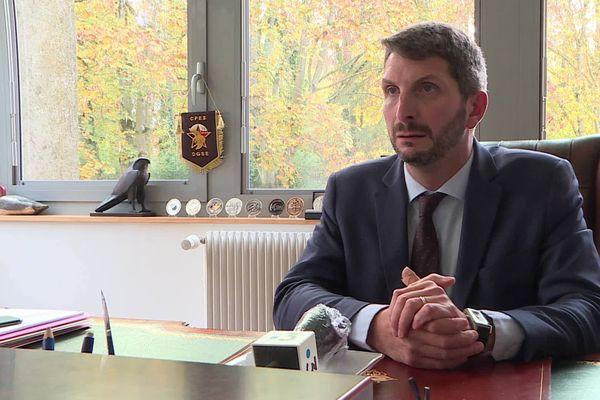 """Guillaume Demarcq, avocat de la société de vénerie """"le Rallye de la passion"""", a réagi aux propos du compagnon d'Élisa Pilarski."""