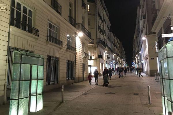 La rue Crébillon à Nantes