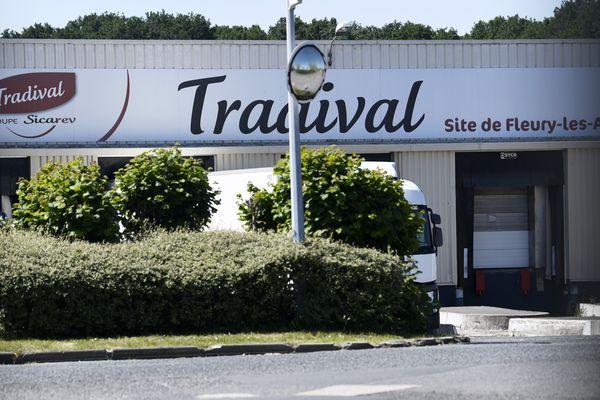 Site de l'abattoir Tradival à Fleury-les-Aubrais (Loiret)