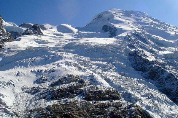 La glacier des Bossons... en plein jour !