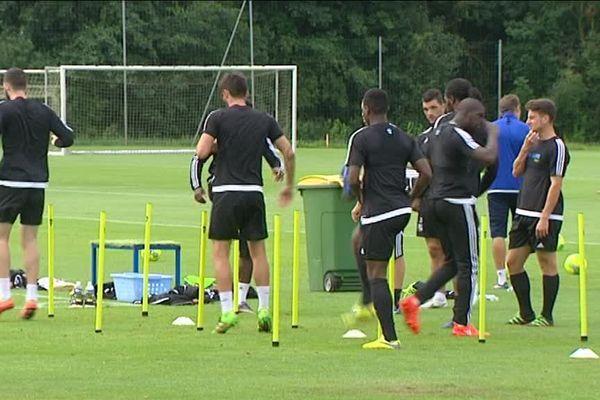 Entraînement Amiens SC