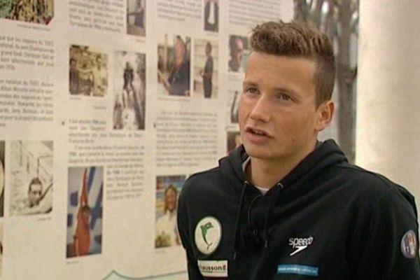 Jean Dencausse est arrivé aux Dauphins du Toec en septembre 2013.