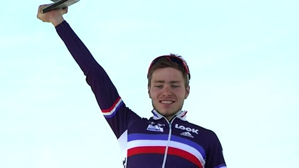Florian Sénéchal, vainqueur du Paris-Roubaix Junior en 2011.