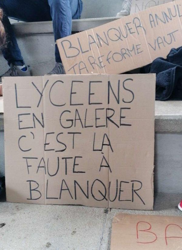 Au Lycée Victor Considérant, Salins-les-Bains, 6 mai 2021.