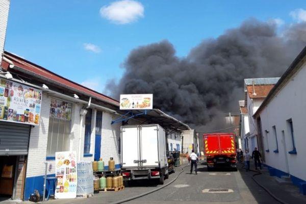 Le sinistre est survenu au 143, rue Rateau à La Courneuve.