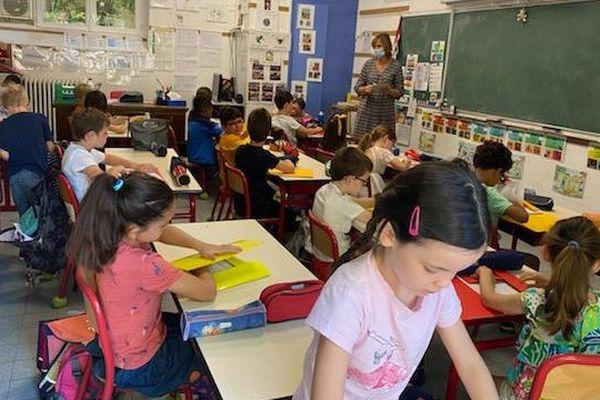 A l'école primaire St Jean Baptiste de la Salle de Montpellier, les salles de classe sont à nouveau pleines - 22.06.20